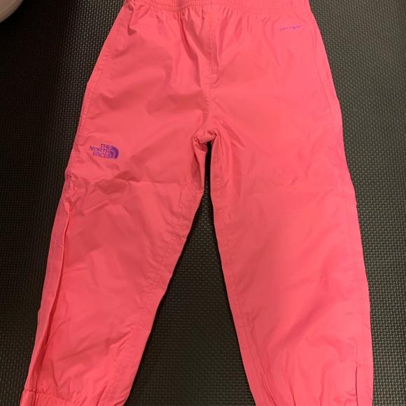 NWT Toddler Girls North Face Splash Pants